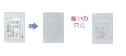 新型コロナウイルス抗体検査 郵送梱包 手順3