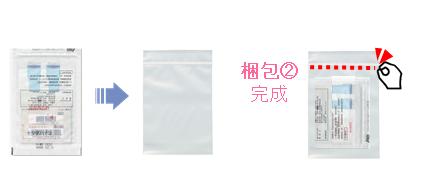 新型コロナウイルス抗体検査 郵送梱包 手順2